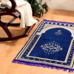 Modern Prayer Mat – Reciting the Islamic Texts In front of them